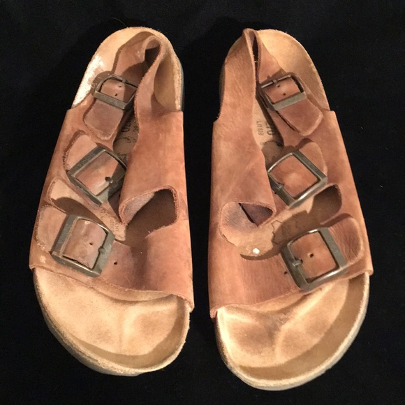 80b795771fa4 Birkenstock Shoes - BIRKENSTOCK BACKSTRAP SANDALS LADIES 9